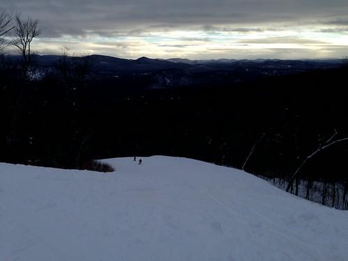 canada ski sunrise quebec snowboard monttremblant 加拿大 日出 滑板 滑雪