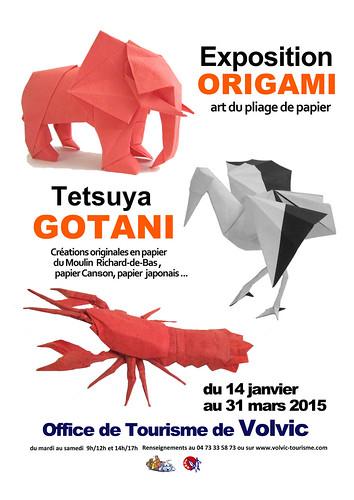 Exposition Origami a Volvic | by tetsuya gotani