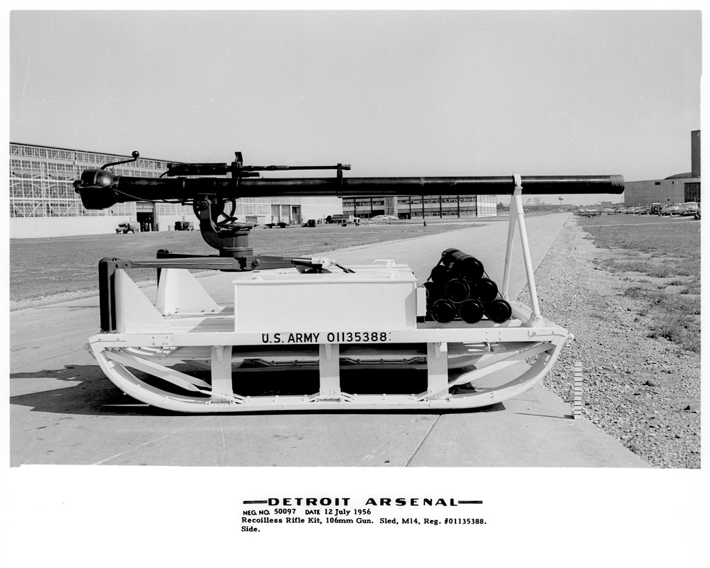 Image result for sled with recoilless rifle