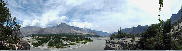 View of Danyor from Gilgit