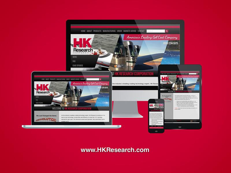 HK Research Responsive Website Design