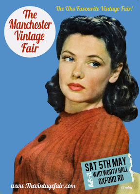 I Have A Stall at The Vintage Fair Manchester