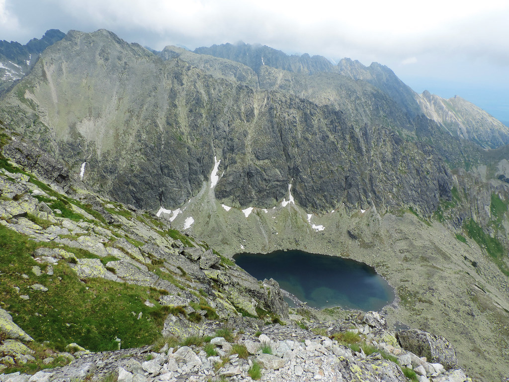 Hiking to Krivan, High Tatras, Slovakia