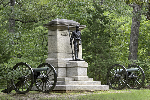 Minnesota Artillery Monument