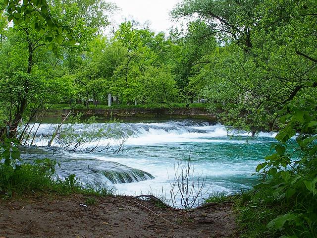 Una river in the centre of Bihać  - BIH - 2016