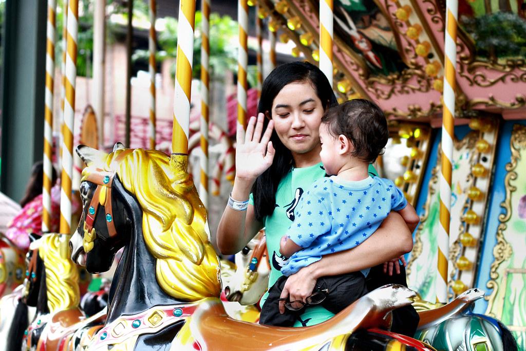 Ride in Sunway Lagoon Theme Park