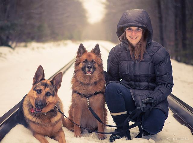 Sasha, Ella, Kristen