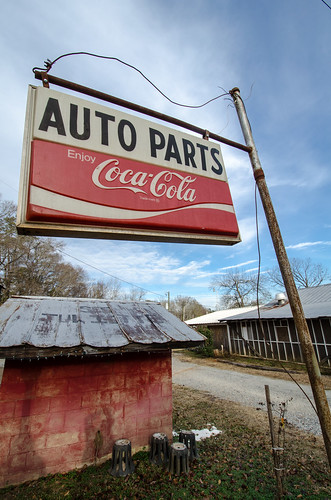 Auto Parts sign - Juliette, GA | by m01229
