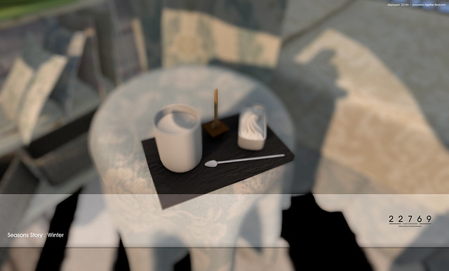 22769 ~ [bauwerk] Agathe Bedroom for The Seasons Story : Winter 2015