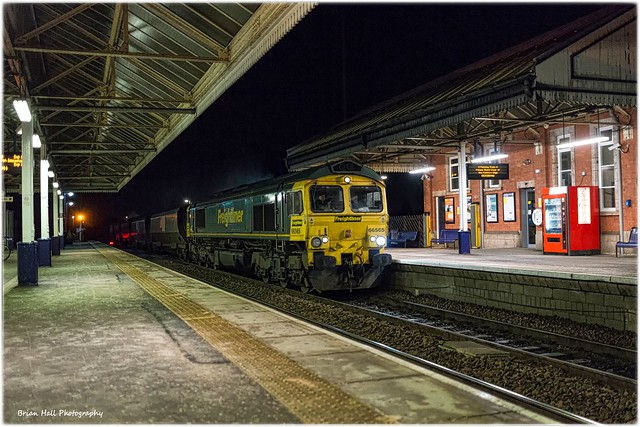 66565  1941 Immingham Import Term Fhh to Drax Aes (Flhh) , Scunthorpe ,13-1-2015
