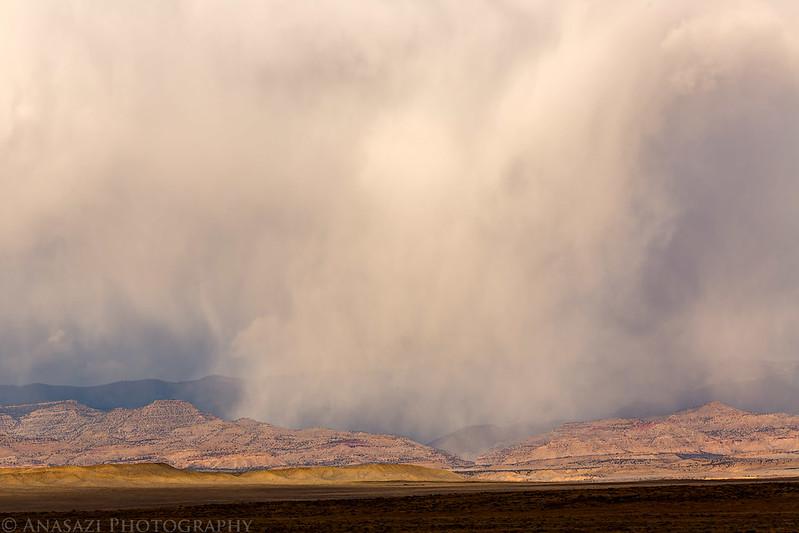Distant Snowstorm