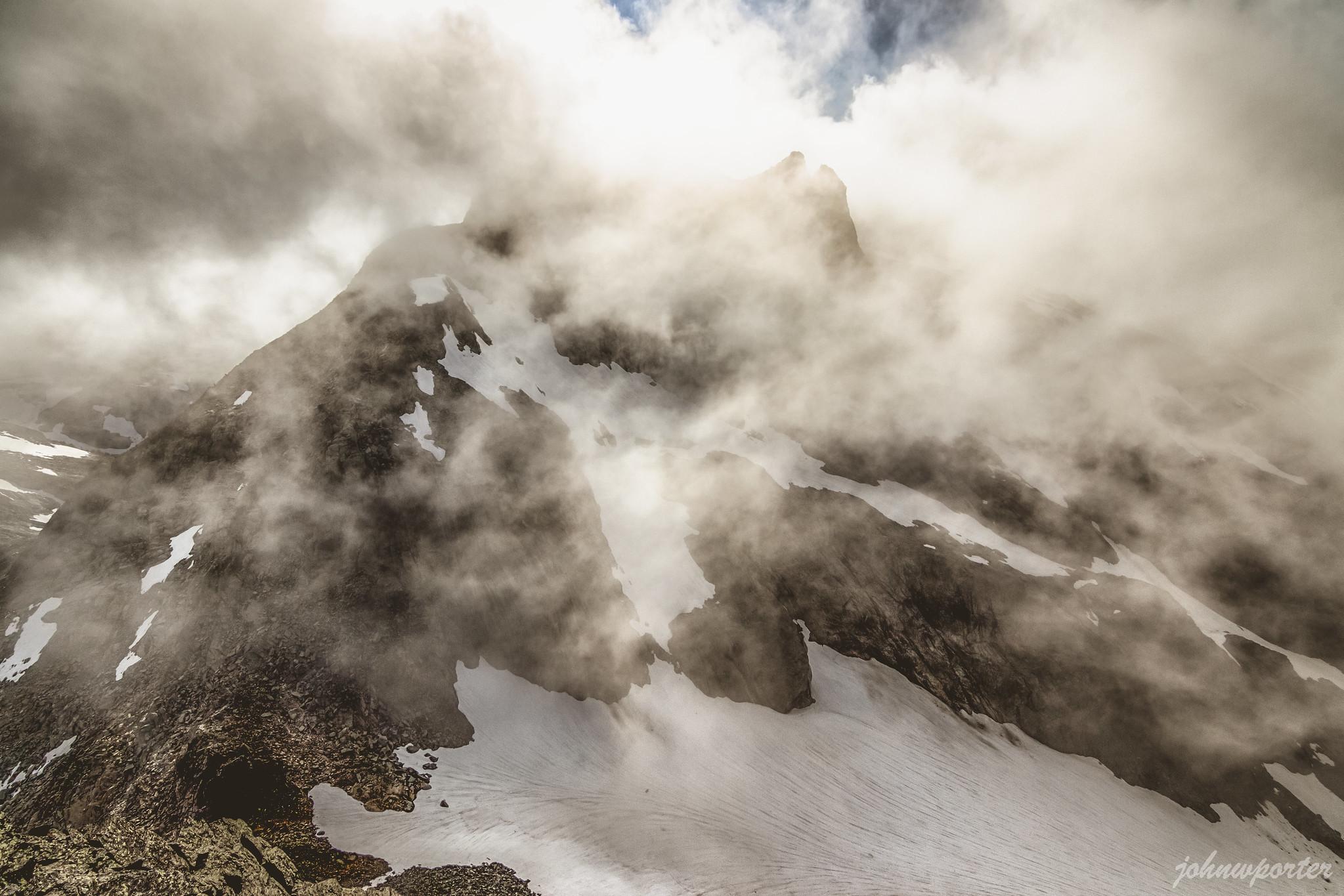 Dip Top Peak from Lynch Peak