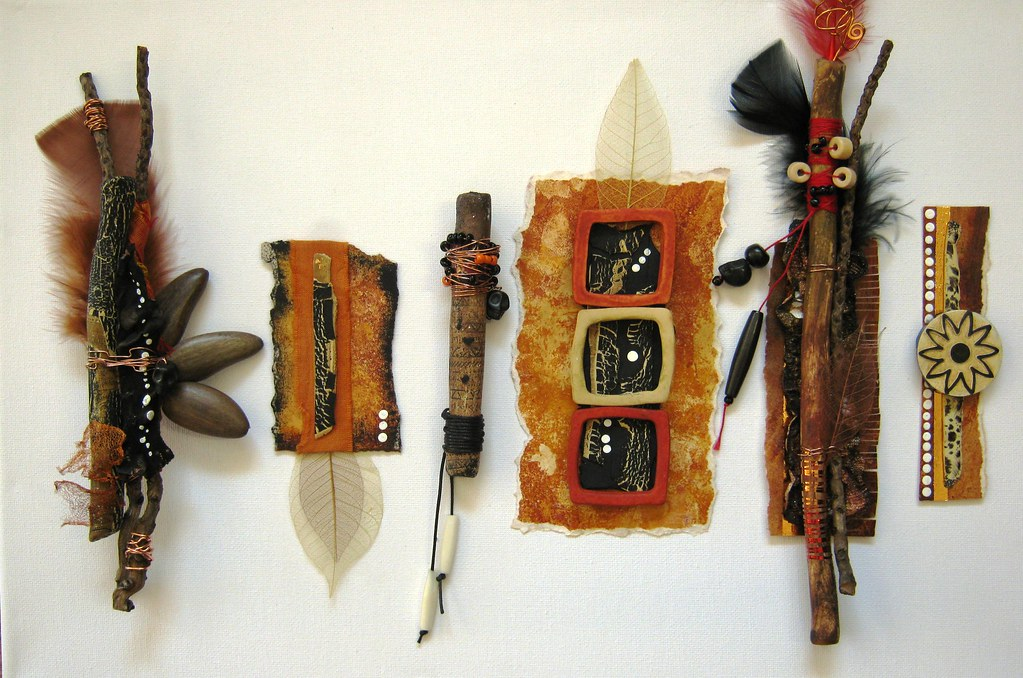 Mixed Media Assemblage