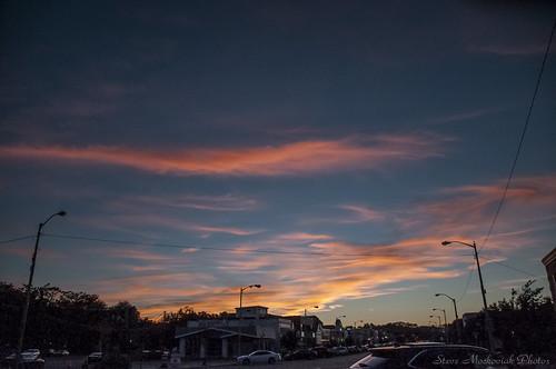 smack53 denville newjersey sunset sundown evening clouds paintedsky summer summertime nikon d300 nikond300 sky