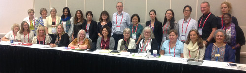 Division III officers at WLIC 2016 | by IFLA HQ