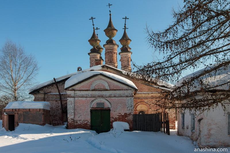 Зимняя церковь Богоявления Господня в Воскресенском монастыре, Солигалич