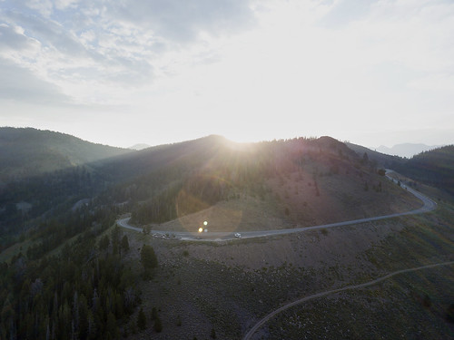 galenasummit idaho lensflare sunrise