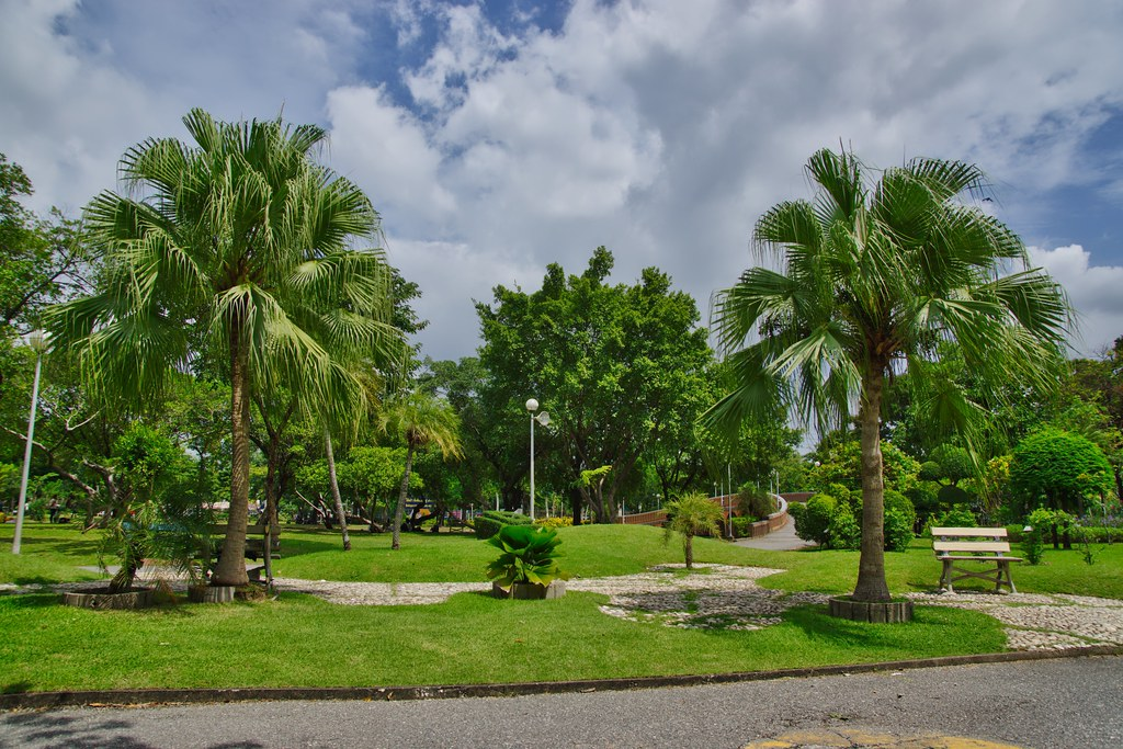 Chatuchak park in Bangkok, Thailand