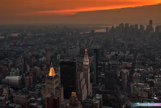 Low Light at Dusk, New York City *A Beautiful Nature*