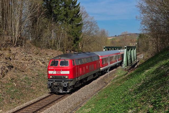 218 409 in Hüfingen