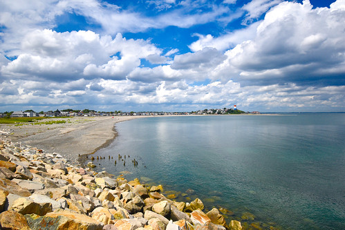 brooksbos boston brooks geotagged landscape massachusetts newengland reflections summer sky water nikon d5600 beach sand rocky bay