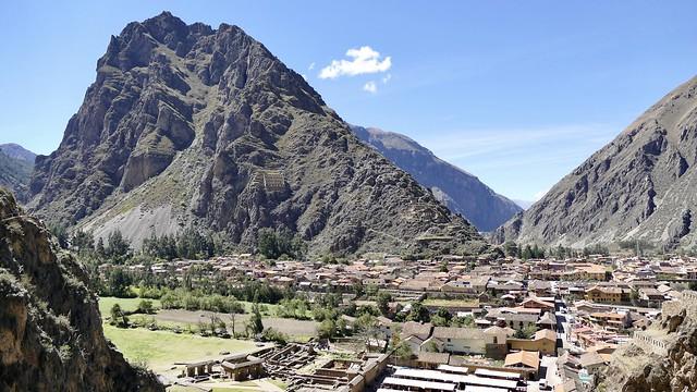 Ollantaytambo valle Sagrado Cuzco Peru