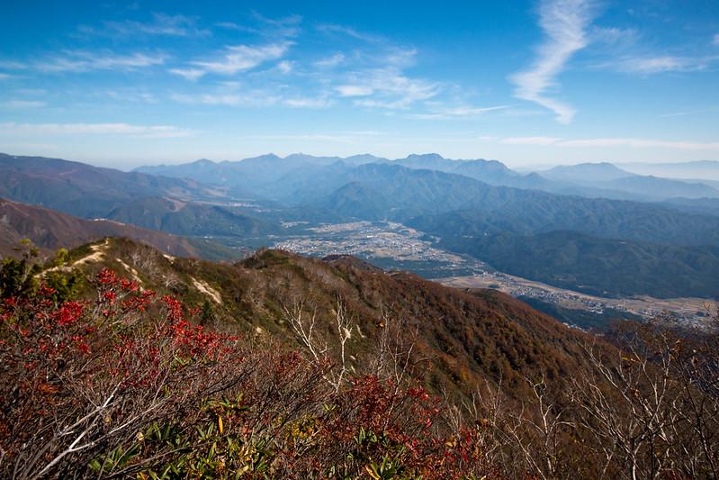 小遠見山からの展望