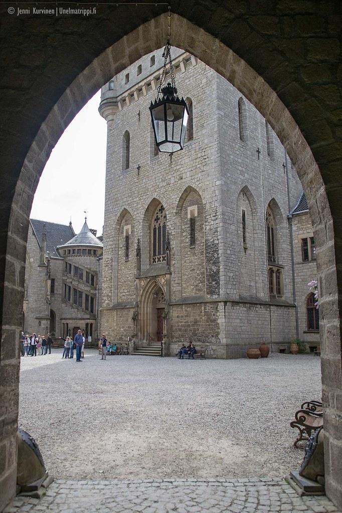 Marienburgin linnan sisäpiha