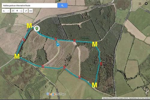 Conrhenny - alternative route