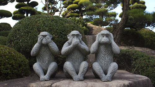 See no evil speak no evil hear no evil | by Japanexperterna.se