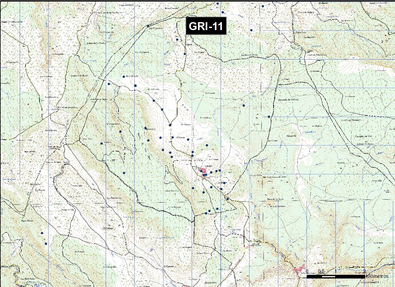 GRI_11_M.V.LOZANO_POZO LAS GRAJAS_MAP.TOPO 1