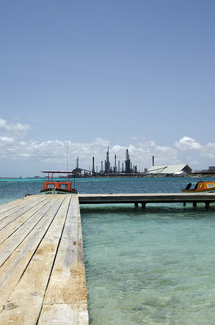 Dock and Oil Refinery