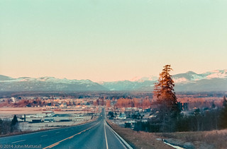 Ryan Road, Coutenay, BC. Late 70's
