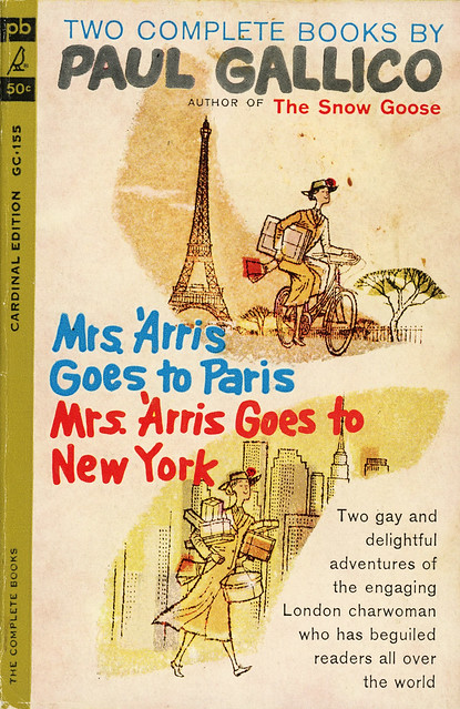 Cardinal Books GC-155 - Paul Gallico - Mrs. 'Arris Goes to Paris and Mrs. 'Arris Goes to New York