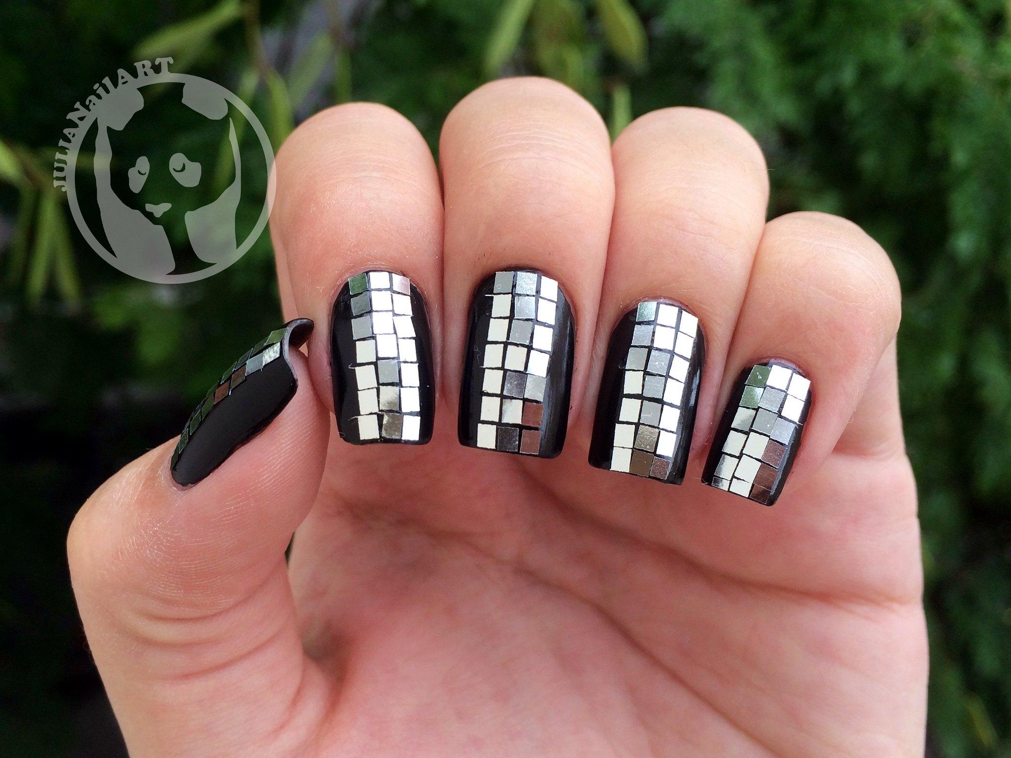 Disco Ball Bling Nails | Bling Nail Designs For Shining Shimmering Splendid Nails | bling nails | bling up nails