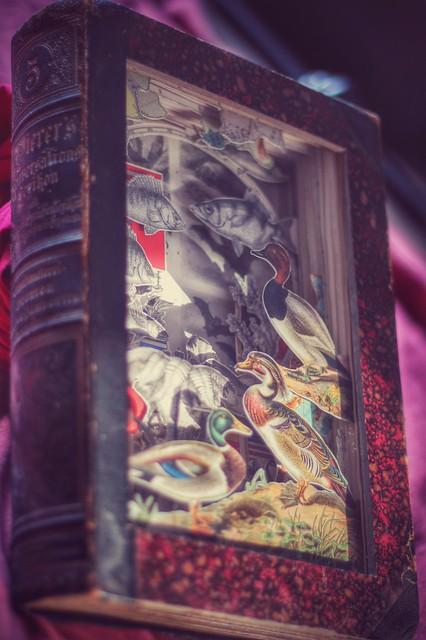 Book Carving - Alexander Korzer-Robinson