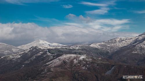 winter italy snow campania south neve inverno civitella