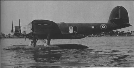 Hidroavión capturado por Strewer y reutilizado por la RAF