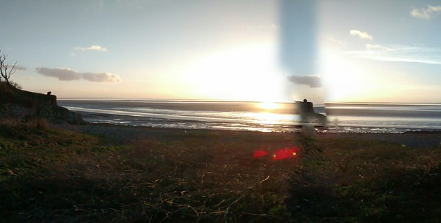 Morecambe Bay with Glitch