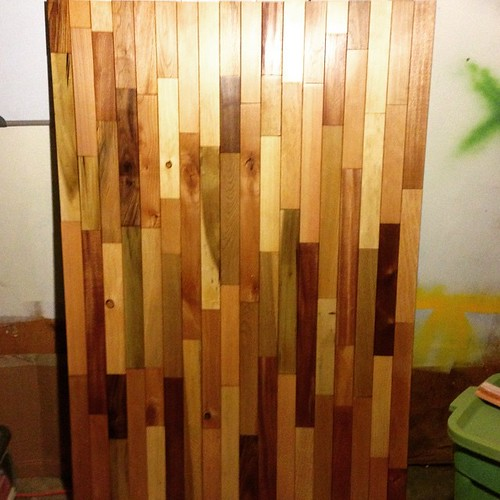 #headboard #stained | by crazyoctopus