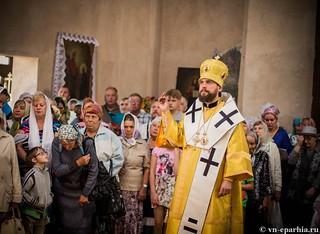 Литургия в Ильинском соборе 230