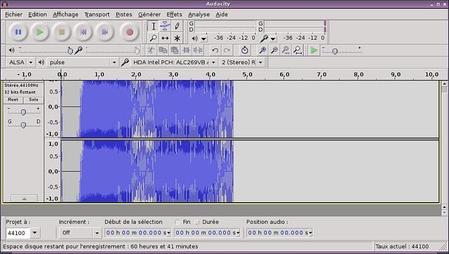 Audacity - Audio Editor