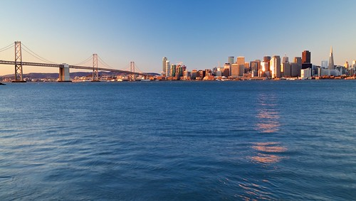 San Francisco Skyline at Sunrise | by optimalfocusphotography