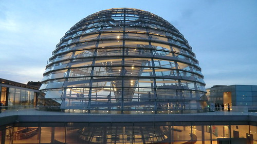 Berlin - Reichstags Kuppel / Dome of German Parliament Building, the Reichstag | by Traveller-Reini