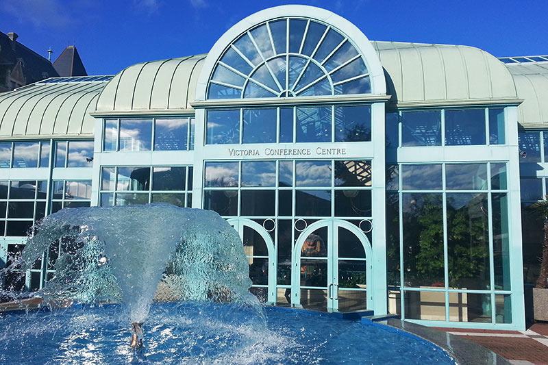 Victoria Conference Centre, Downtown Victoria, Vancouver Island, British Columbia, Canada.