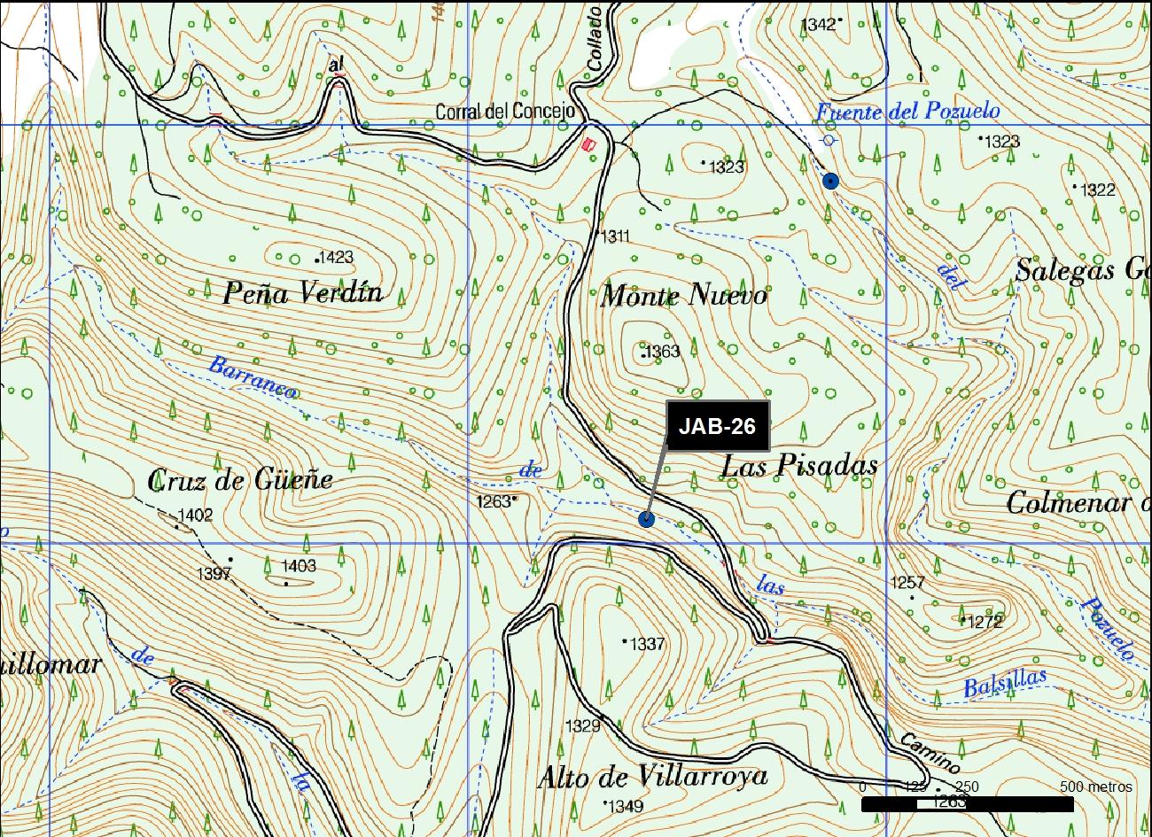 JAB_26_M.V.LOZANO_POZO INCENDIOS LA SILLA_MAP.TOPO 2