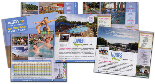 Park Resorts 2015 brochure