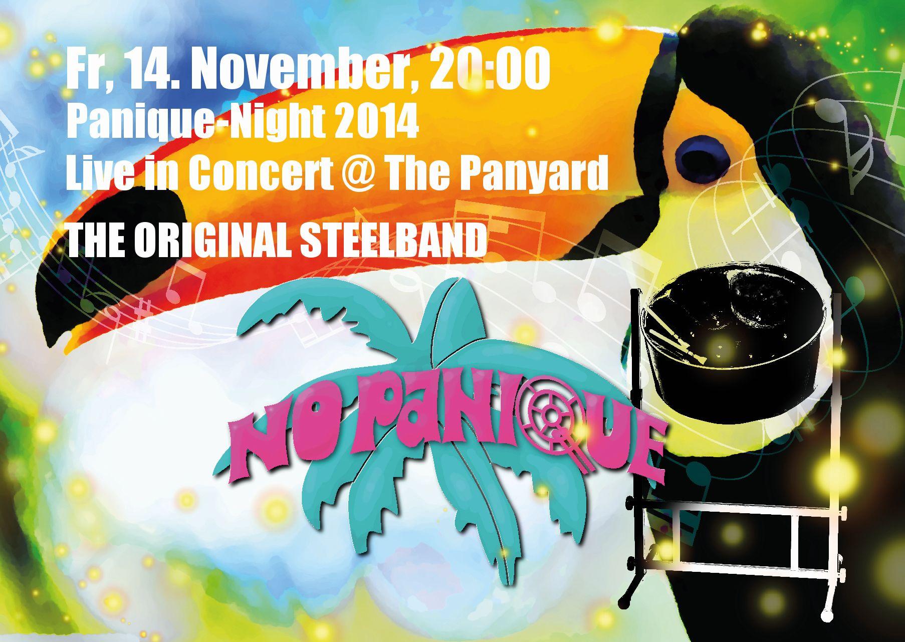 PaniqueNight am 14. November 2014 im PanYard, Bümp
