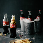 coke and salted peanuts