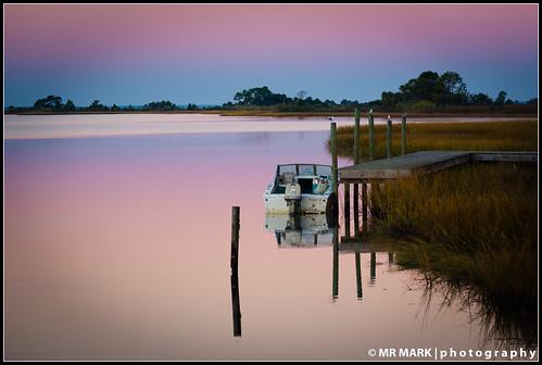 pink docks sunrise boats mirror pier florida piers coastal serene fl tranquil apalachicola apalachacola appalachacola